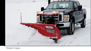 Selling my snow plow contracts and client list