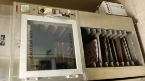 Commercial electric oven and proofer