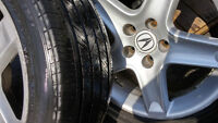 Acura TL Mags,Tire 235-45-17,Bolt pattern 5x114.3