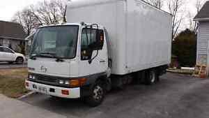 2001 Hino FB with super lawn truck conversion