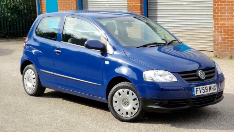 2009 Volkswagen Fox 1 2 Urban In Blue In Mansfield