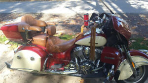 Indian Roadmaster loaded with extras