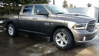 2015 RAM 1500 SPORT, C/C, RAMBOX, AIR RIDE, IN ON TRADE 900 KMS