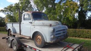 classic 1953 dodge truck pilothouse power wagon box