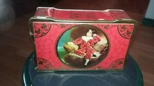 ANTIQUE WILKINS TIN FROM ENGLAND