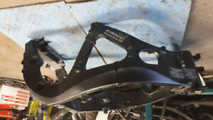 2012 Gsxr 600 frame clean title gsx-r fit on 750 from 11-18