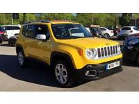 2016 Jeep Renegade 2.0 Multijet Limited 5dr 4WD Automatic Diesel Hatchback