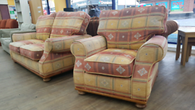 2 seater sofa and armchair set