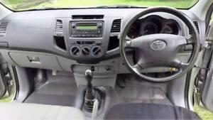 $50 P/Wk Toyota Hilux 6 SEATER Dualcab ute 2008 Towbar, workhorse