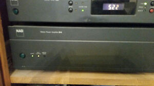 NAD Stereo power amplifier 214