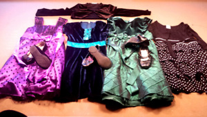 4 SEASONS SPECIALTY DRESSES WITH SHOES 6-6x -