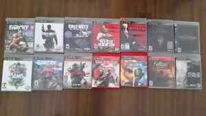 16 PS3 Games for sale (no manuals in some)