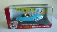 Voiture de collection Spirou et Fantasio Atlas N°01