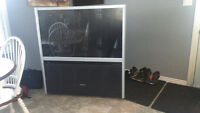 "HD ,( Lots of BASS) Toshiba 51"" rear projection TV"