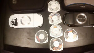 2 Sony PSP'S with 2 case's 8 games and charger Windsor Region Ontario image 5