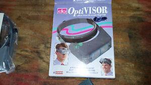 Optivisor Magnifiying Headset