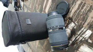 Sigma 50-150mm f/2.8 II EX DC HSM $520 with a Cokin 67mm filter