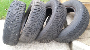 "4   P 185 70 14""    Goodyear M/S  excel. cond. $250.00"