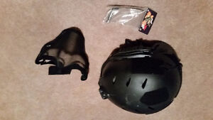 Wilcox metal tactical paintball helmet and mask