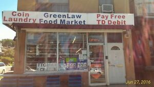 Free Business - Convenience Store and Coin Laundry Together