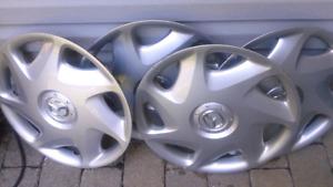 4 enjoliveurs de roues 16 pouces original mazda