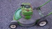 """1974 Lawnboy 19"""" """"Brick Top"""" Lawnmower Model 5023"""