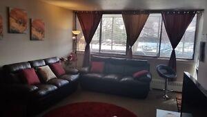 very spacious, bright,5,1/2 3 bedroom, on a  ground floor corner
