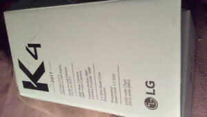 BRAND NEW LG K4 Straight sale or trade for iphone