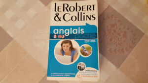 Le Robert & Collins . Dictionary English French - French English