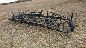 20ft. Konskil folding wing 3pth S tine cultivator