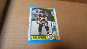1989-90 Phil Bourque NHL OPC rookie card