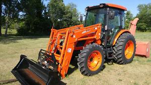 Dealer Demo Kioti RX7320 Tractor And Loader
