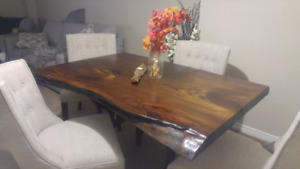 Custom Live Edge Tables.....and More!