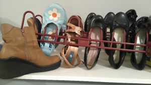8 pairs kids shoes,size 7 shoes,New and used, mint