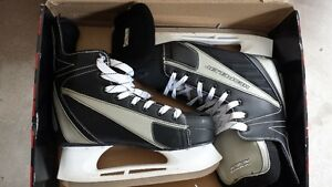 Never worn Size 12 skates. Already sharpened