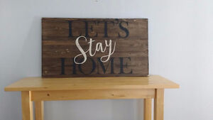 HAND PAINTED RUSTIC WOOD SIGNS Peterborough Peterborough Area image 3