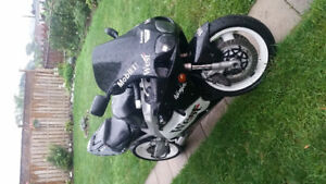 1996 Kawasaki zx750 ninja for trade