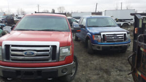 2009,2010 Ford F-150 4x4 Lariat Super 5.4L,4.6L 4x4 For Parts
