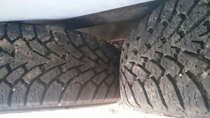 Winter tires and rims Kawartha Lakes Peterborough Area image 2