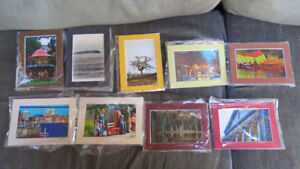 4x6 photos matted by Saint John artist Deb Humen