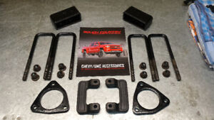 """2.5"""" Leveling kit for Gmc/Chev 1500 4x4"""
