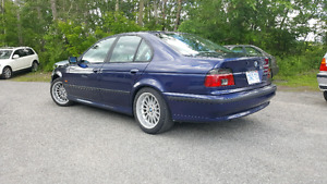 1998 BMW 540i 6 SPEED MANUAL. MONTREAL BLUE. STYLE 32 RIMS.