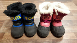 Toddler Winter Boots (x2) Size 9