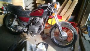 1984 Honda CM250c Motorcycle