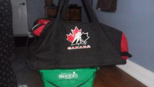 Hockey Bag with Wheels Peterborough Peterborough Area image 1