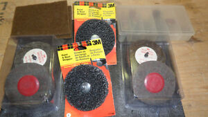 ASSORTED 3M ABRASIVES AND GRIND STONES - ONLY $20 !!!
