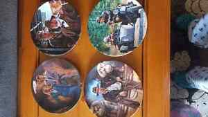Indiana Jones collectable plates