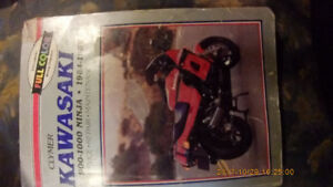 Clymer 1984-1987 900-1000cc Ninja repair manual