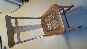 Nursing rocking chair.