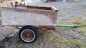 4x6 Plywood Sided Trailer
